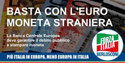 Basta con l'euro moneta straniera