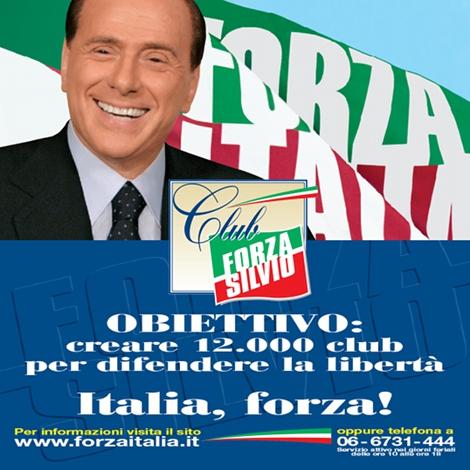 Forza italia club forza silvio for Deputati di forza italia