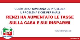 Renzi ha aumentato le tasse sulla casa e sui risparmi